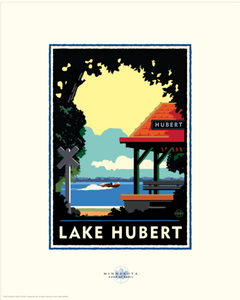 Lake Hubert - Landmark Landmark Series Card