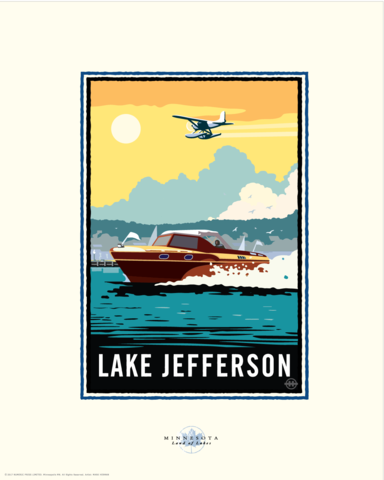 Lake Jefferson - Landmark Landmark Series Card