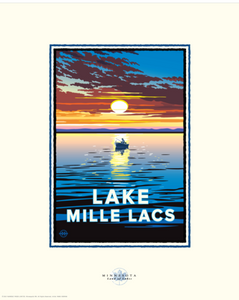 Lake Mille Lacs - Landmark Landmark Series Card