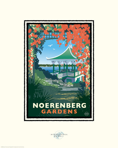 Lake Minnetonka Noerenberg Gardens - Landmark Series Card