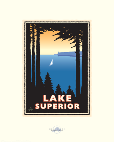 Lake Superior North Shore - Landmark Series Card