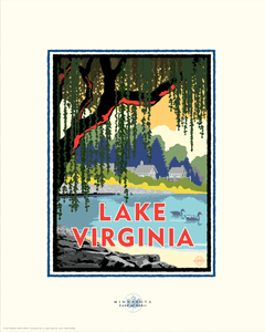 Lake Virginia - Landmark Series Card