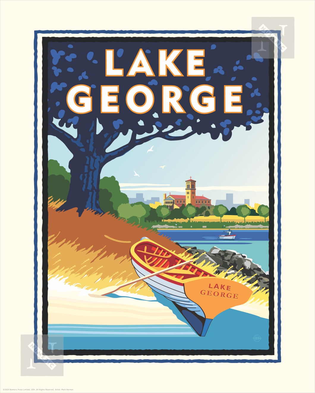 Lake George - Landmark Series Print