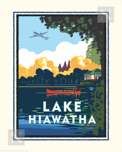 Lake Hiawatha - Landmark Series Print