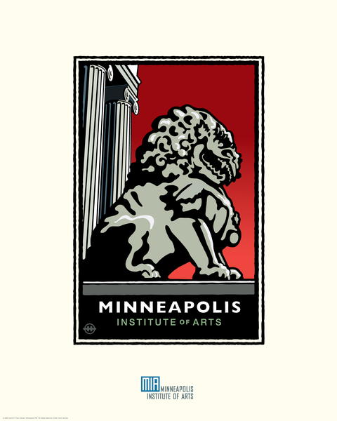 Minneapolis Institute of Arts - Landmark Series Card