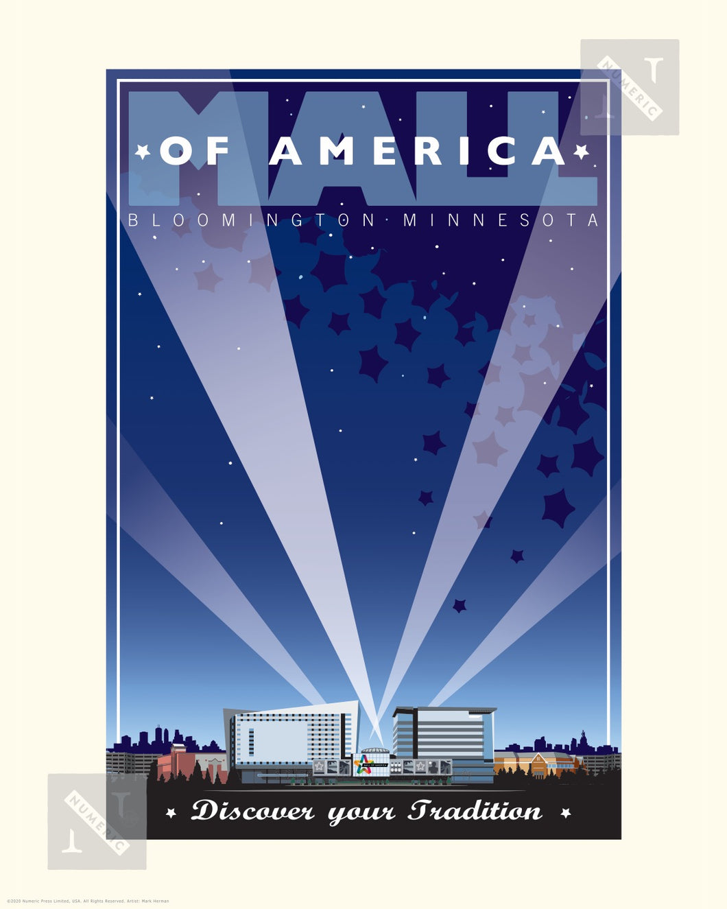 Mall of America - Landmark Series Print