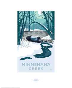 Minnehaha Creek - Landmark Series Card