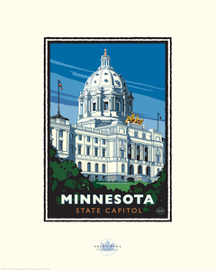 Minnesota State Capitol - Landmark Series Card