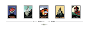 Mississippi Mile Collection - Print