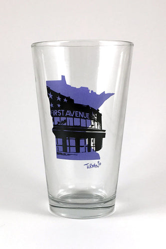 First Ave Pint Glass
