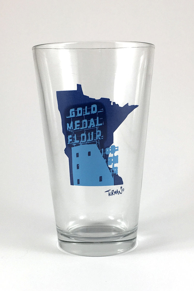 Gold Medal Pint Glass