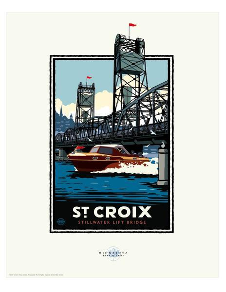 St. Croix River Boating - Landmark Series Card
