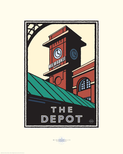 The Depot Minneapolis - Landmark Series Card