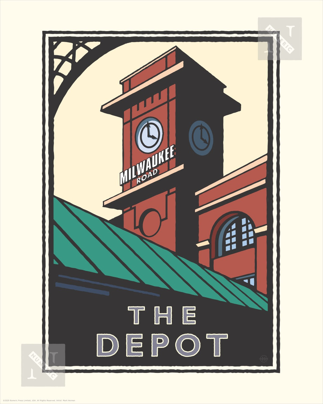 The Depot Minneapolis - Landmark Series Print