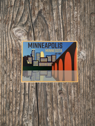 Minneapolis Sticker