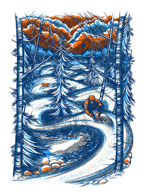 The Fox and The Hound Print