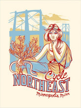 Cycle Northeast Postcard