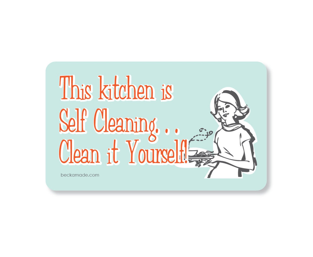 Self Cleaning Kitchen Magnet
