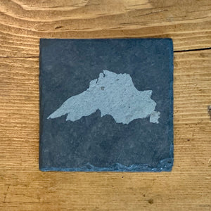 Lake Superior Slate Coaster