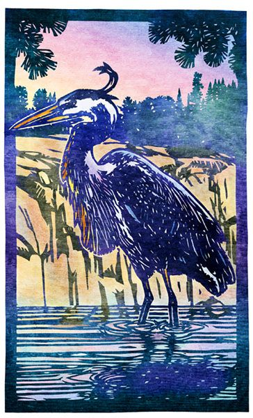 Jane's Blue Heron