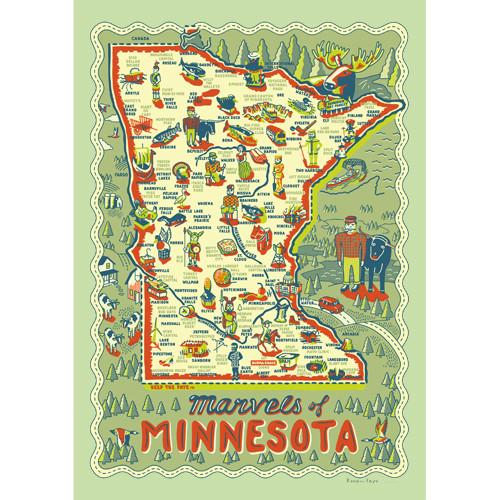 Marvels of Minnesota Poster