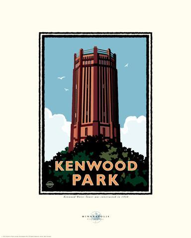 Kenwood Park - Landmark Series Card