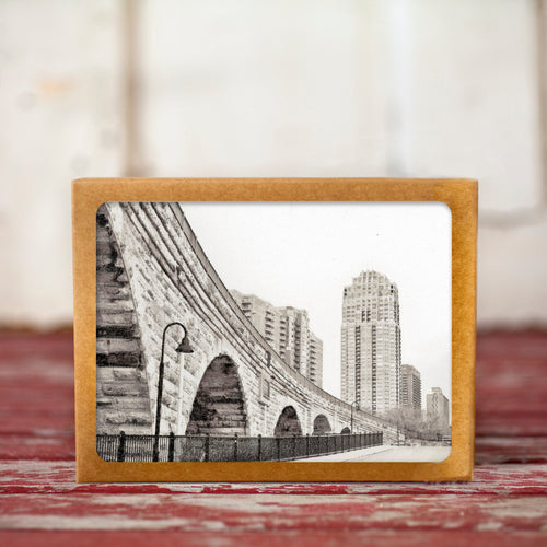 Stone Arch Bridge Greeting Card Set