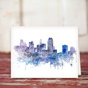 MN Skylines Greeting Card Set