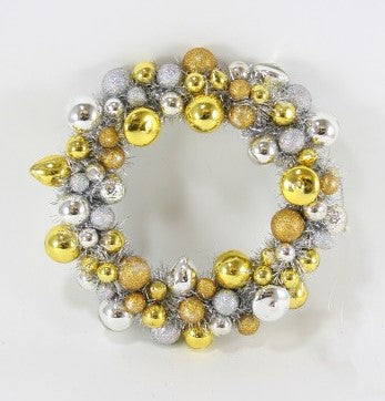 Vintage Gold + Silver Wreath