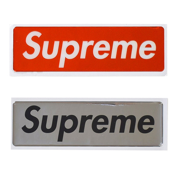 Supreme Liquid Box Logo Sticker