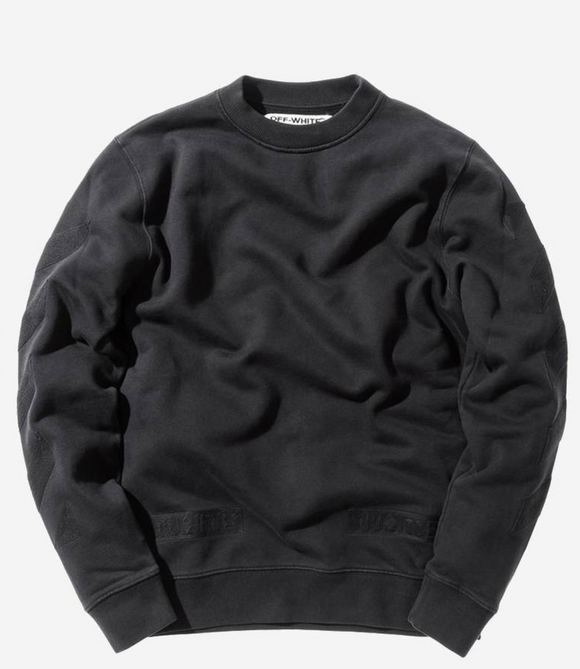Off White x Kith Cornelly Crewneck Black Size XS
