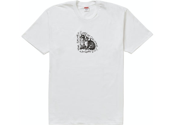 Supreme Eat Me Christmas Tee