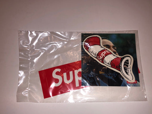 Supreme/Cat in the Hat & Supreme/Marvin Gaye Sticker Set