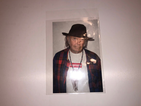 Supreme/Neil Young Photo Sticker