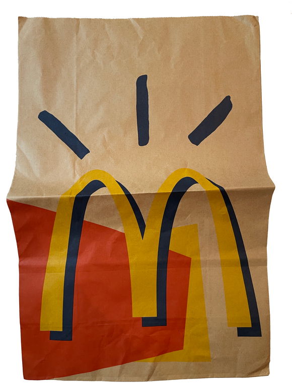 Travis Scott x McDonald's Paper Food Bag