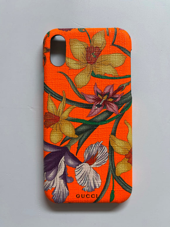 Gucci Floral iPhone X/XS Case