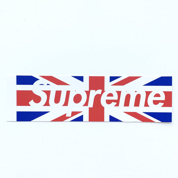 Supreme London Box Logo Sticker