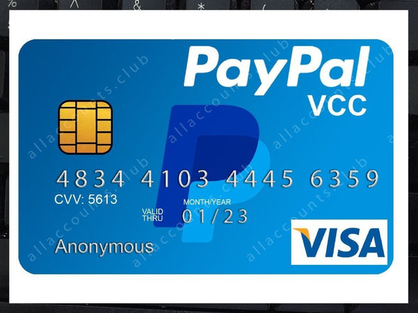 verify paypal with fake credit card