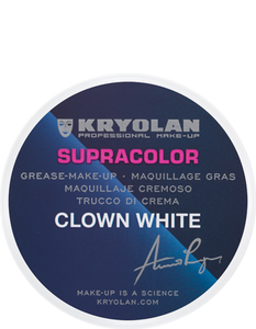 Kryolan Supracolor Clown white 30g