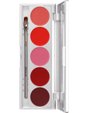 Kryolan Lip Rouge Set with 5 Colours 01215