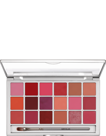 Kryolan Lip Rouge 18 Colour Palette 01218