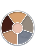 Kryolan Cream Colour Circle 6 Colours 01306