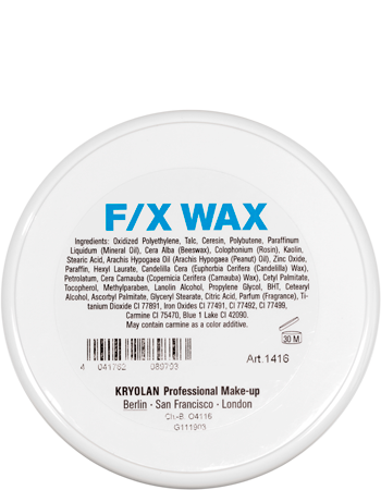 Kryolan F/X Wax - Large 120ml 01416