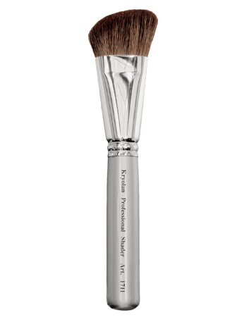 Kryolan Angled Blusher/Blender  Brush Si 01711