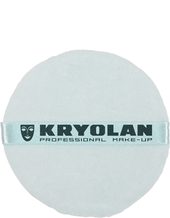 Kryolan Kry Powder Puff Blue Colour 10cm 01724