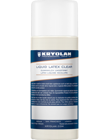Kryolan Liquid Latex Clear 100ml 02541