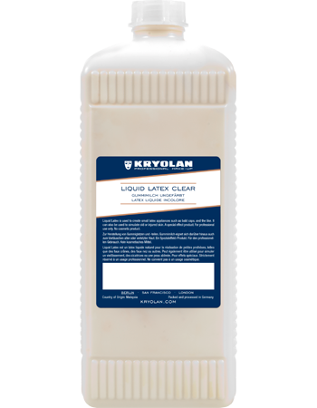 Kryolan Liquid Latex Dyed 1Ltr. 02544
