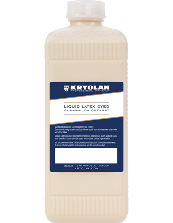 Kryolan Liquid Latex, dyed 500ml 02553