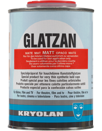 Kryolan Glatzan L matt 500ml 02597