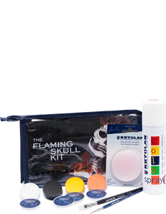 Kryolan Flaming Skull Kit 03009-04